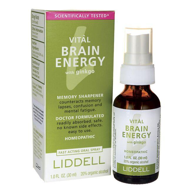 Liddell Laboratories Vital Brain Energy with Ginkgo