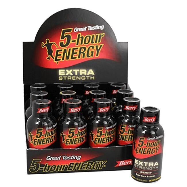 Living Essentials 5-Hour Energy Drink Shot Extra Strength - Berry