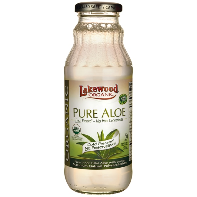 LakewoodOrganic Pure Aloe with Lemon