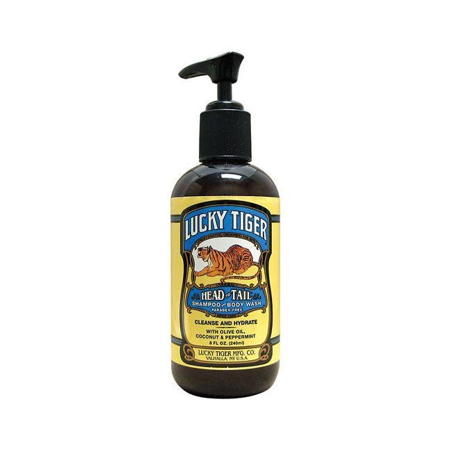 Lucky TigerHead to Tail Shampoo And Body Wash