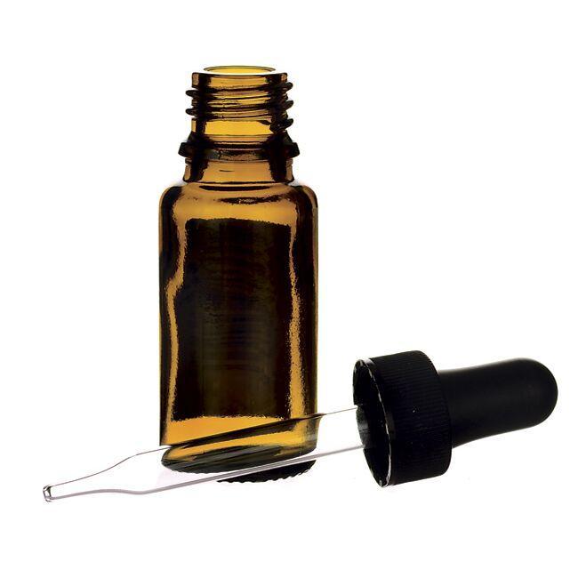 Lotus BrandsAmber Glass Bottle with Dropper