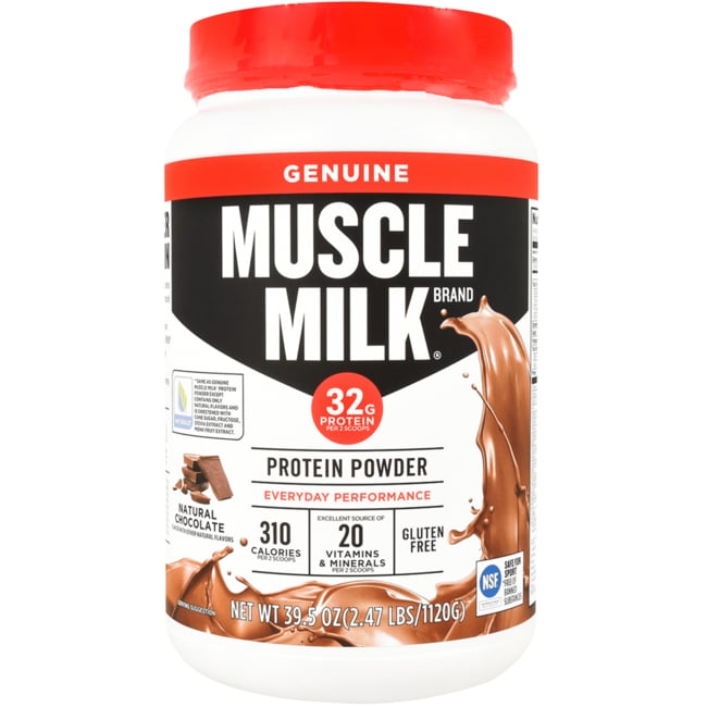 CytoSport Muscle Milk Naturals Real Chocolate