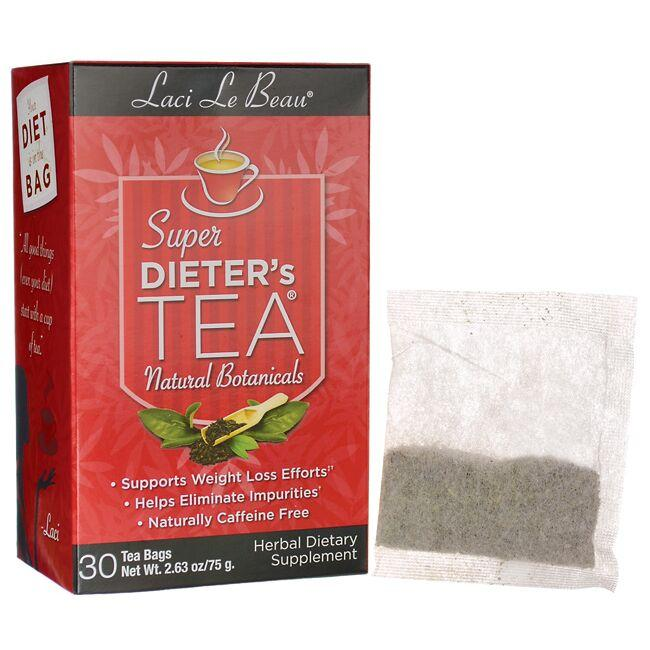 Laci Le Beau Teas Super Dieter's Tea Natural Botanicals