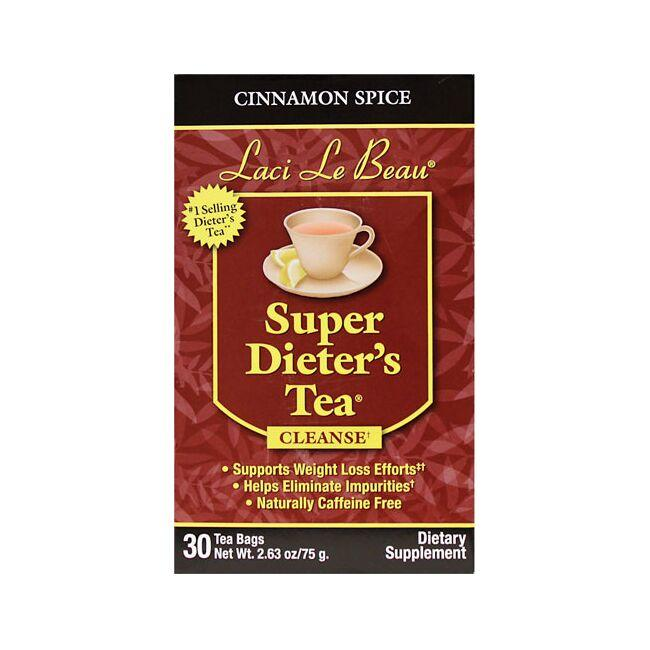 Laci Le Beau Teas Super Diet Tea Cinnamon Spice