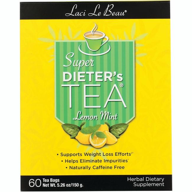 Laci Le Beau Teas Super Dieter's Tea Lemon Mint