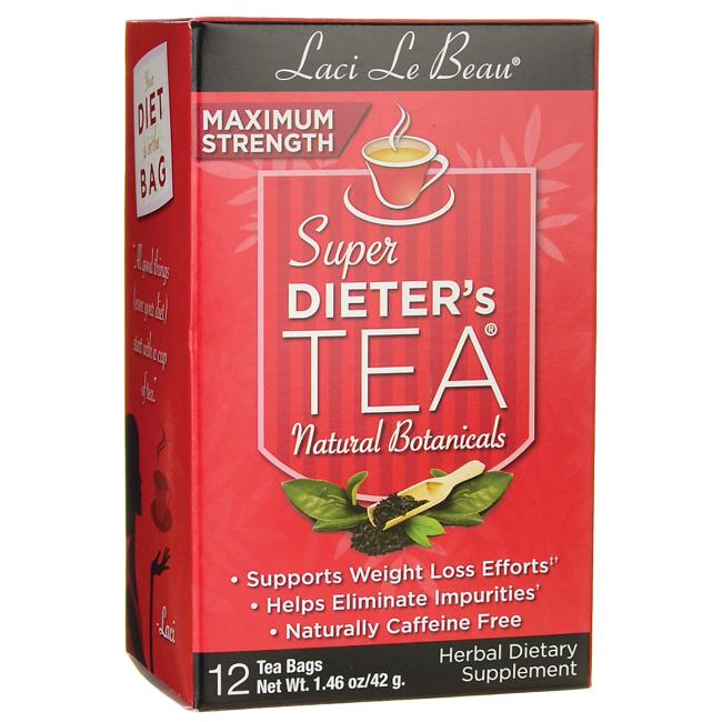 Laci Le Beau Teas Maximum Strength Dieter's Tea All Natural Botanicals