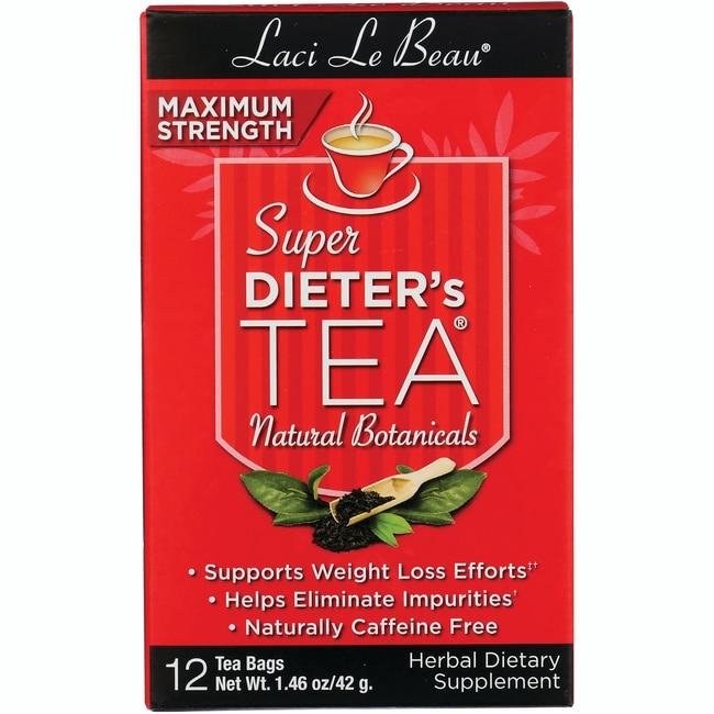 Laci Le Beau Teas Maximum Strength Dieter's Tea All Natural Botanicals