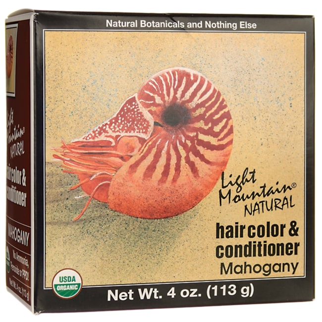 Light MountainHair Color & Conditioner - Mahogany
