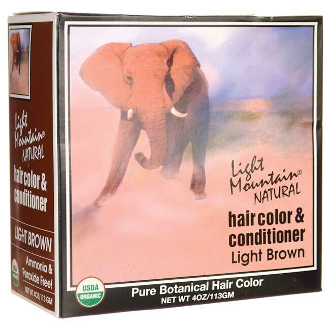 Light MountainHair Color & Conditioner - Light Brown
