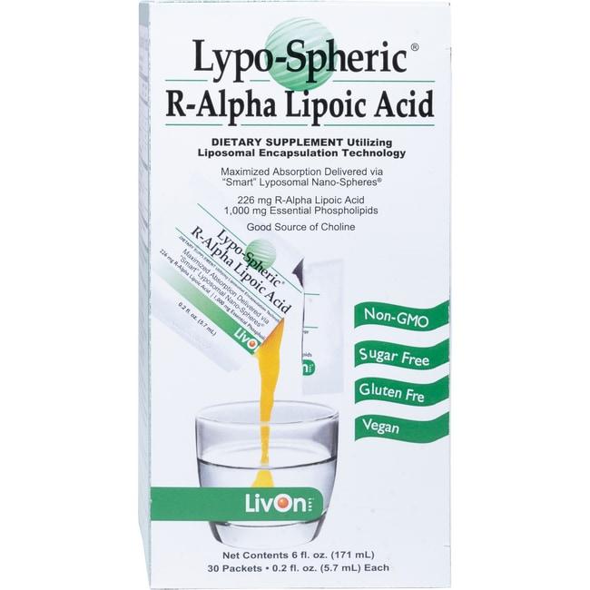 LivOn LaboratoriesLYPO-SPHERIC R-ALA