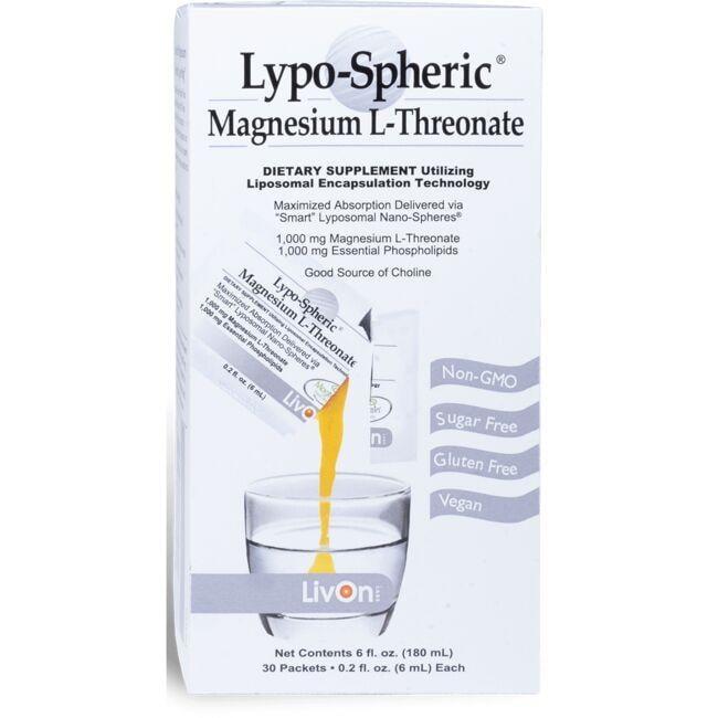 LivOn LaboratoriesLypo-Spheric Magnesium L-Threonate