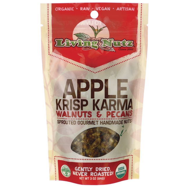 Living NutzApple Krisp Karma Walnuts & Pecans