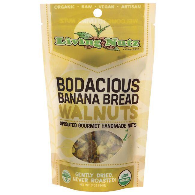 Living NutzBodacious Banana Bread Walnuts