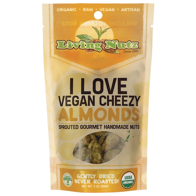 Living NutzI Love Vegan Cheezy Almonds