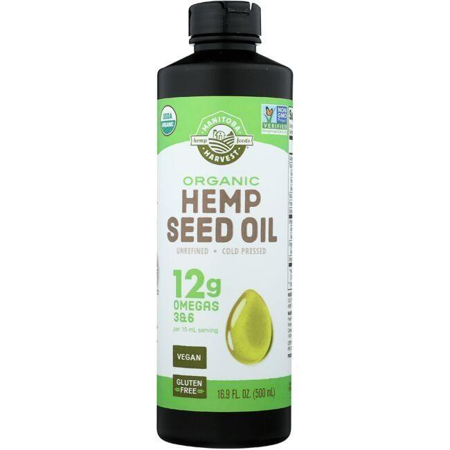 Manitoba HarvestCertified Organic Hemp Oil