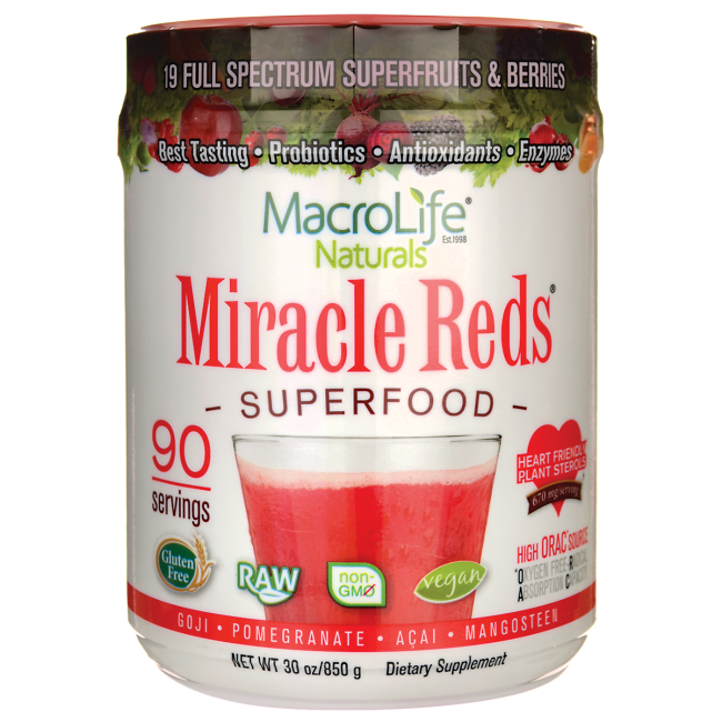 MacroLife NaturalsMiracle Reds Superfood