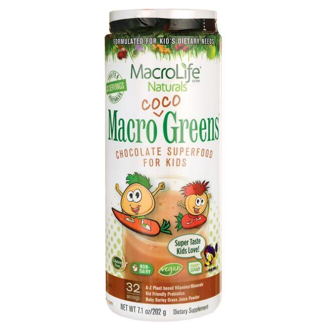 MacroLife NaturalsMacro Coco Greens Chocolate Superfood for Kids