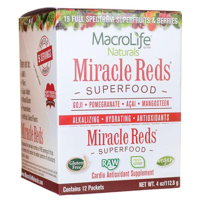 MacroLife NaturalsMiracle Reds Superfood