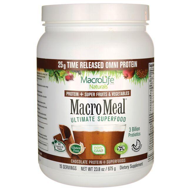 MacroLife NaturalsMacro Meal Ultimate Superfood - Chocolate