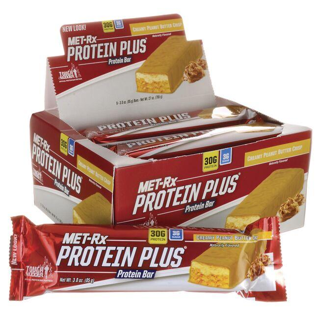 MET-RxProtein Plus Protein Bar - Creamy Peanut Butter Crisp