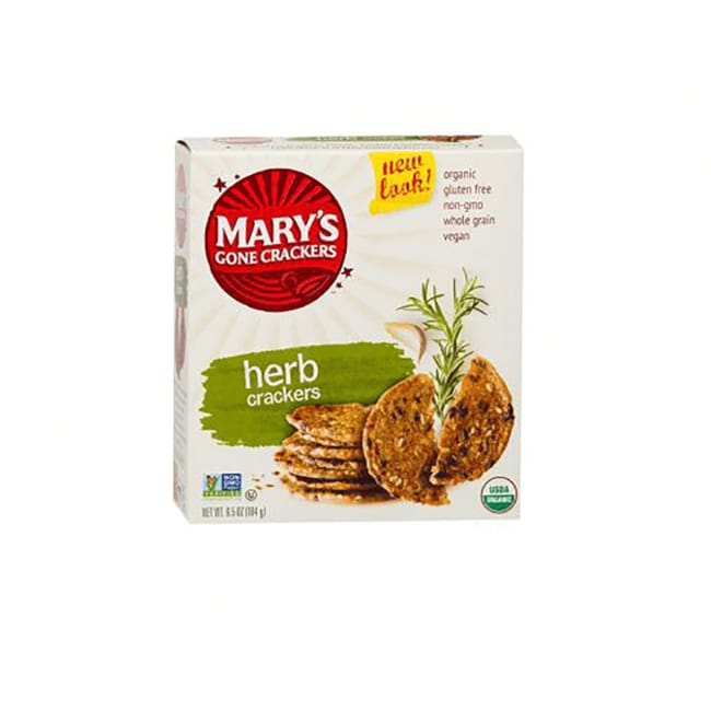 Organic Crackers - herb
