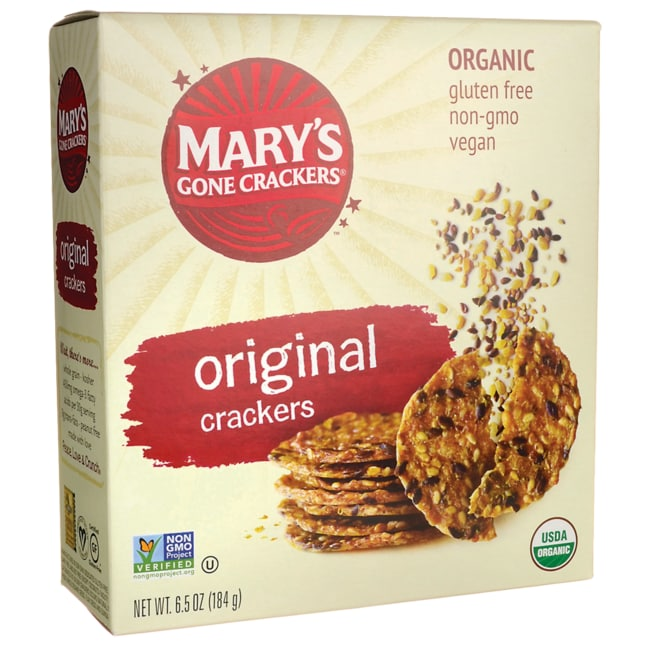 Mary crackers organic