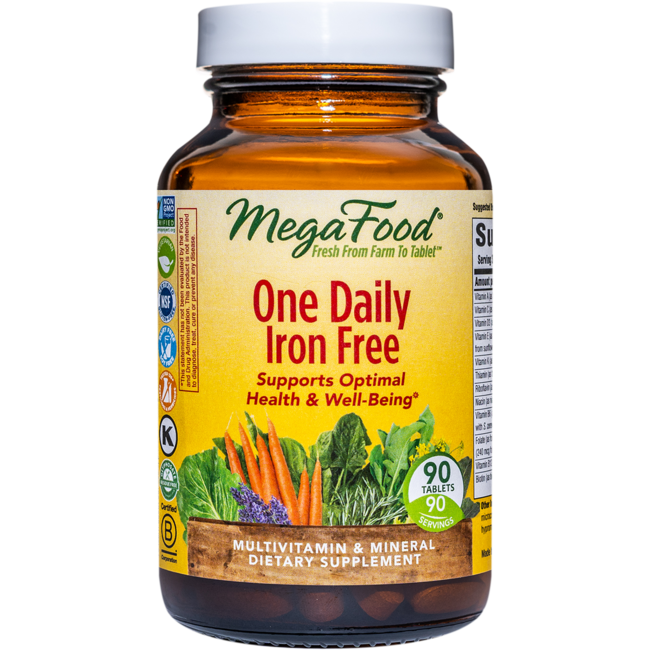 MegaFoodOne Daily Iron Free