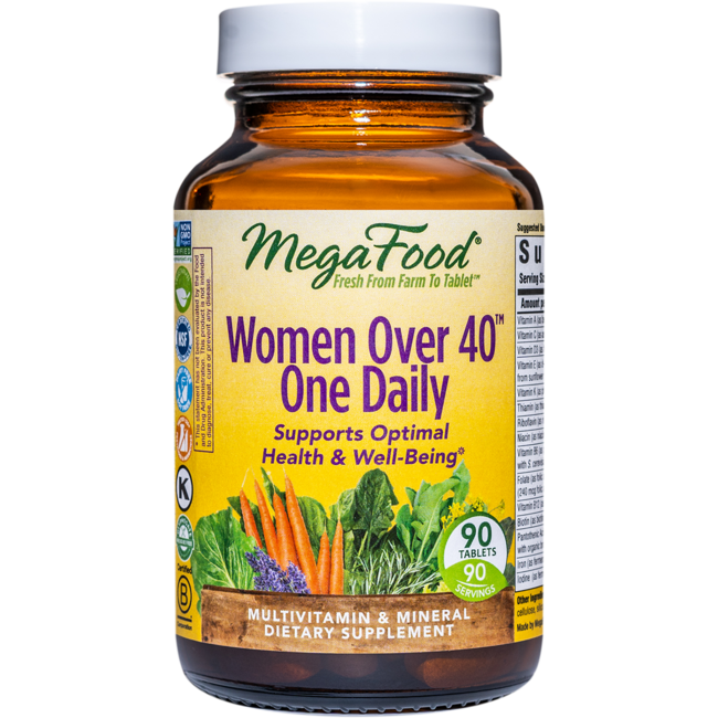 MegaFoodDailyFoods Women Over 40 One Daily