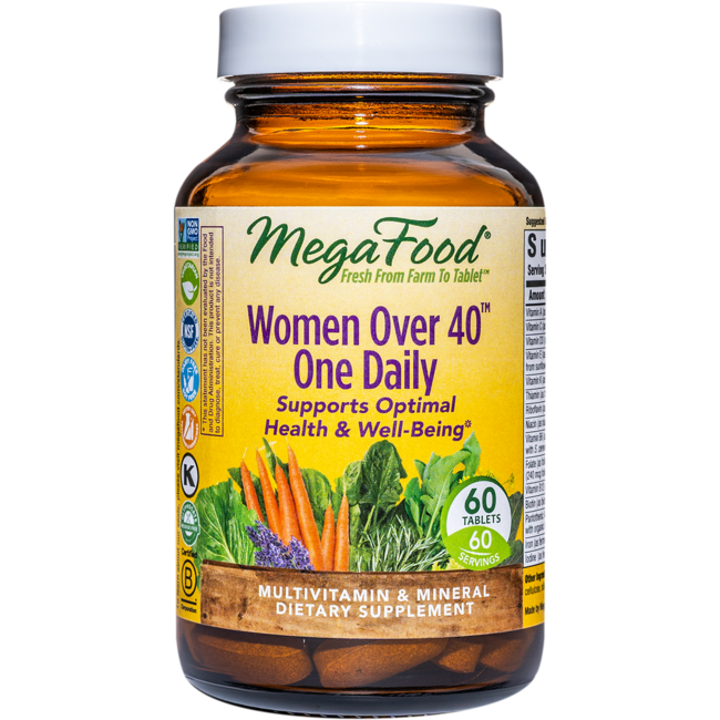MegaFood Mujeres mayores de 40 One Daily