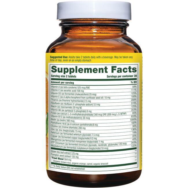 MegaFoodMulti for Men 55+ Close Up