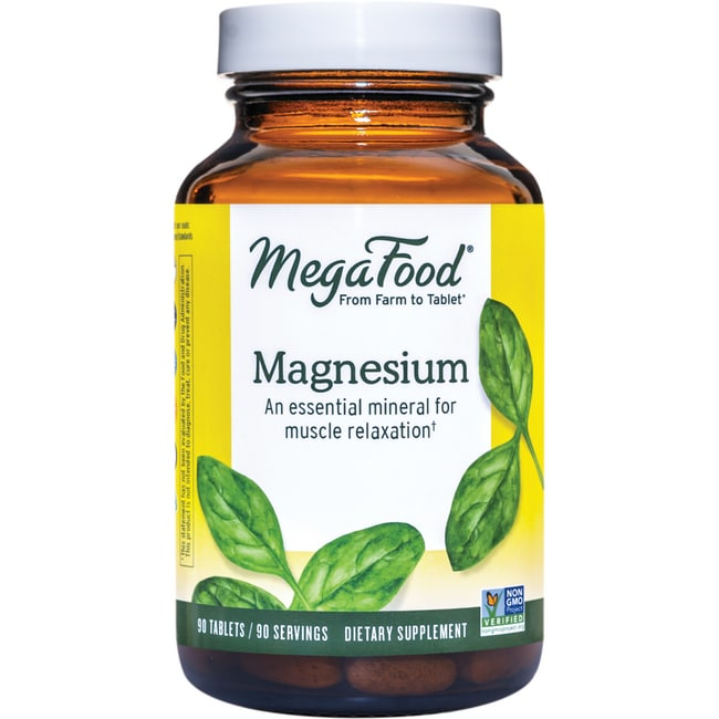 Whole food magnesium supplement