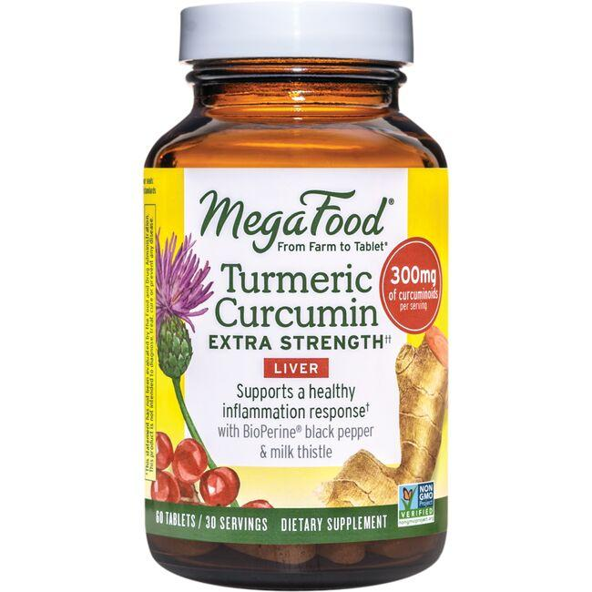 MegaFoodTurmeric Strength for Liver