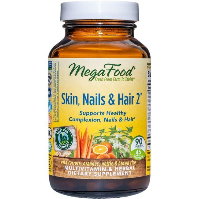 MegaFoodSkin, Nails & Hair 2