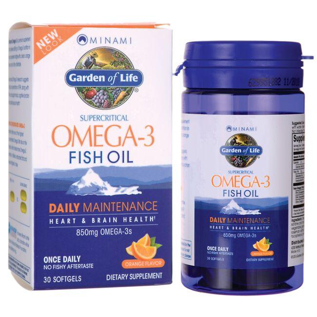 Minami NutritionSupercritical Omega-3 Fish Oil - Orange Flavor