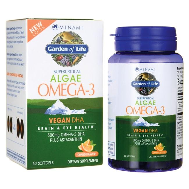 Minami Nutrition VeganDHA Supercritical Omega-3 Supplement - Orange Flavor
