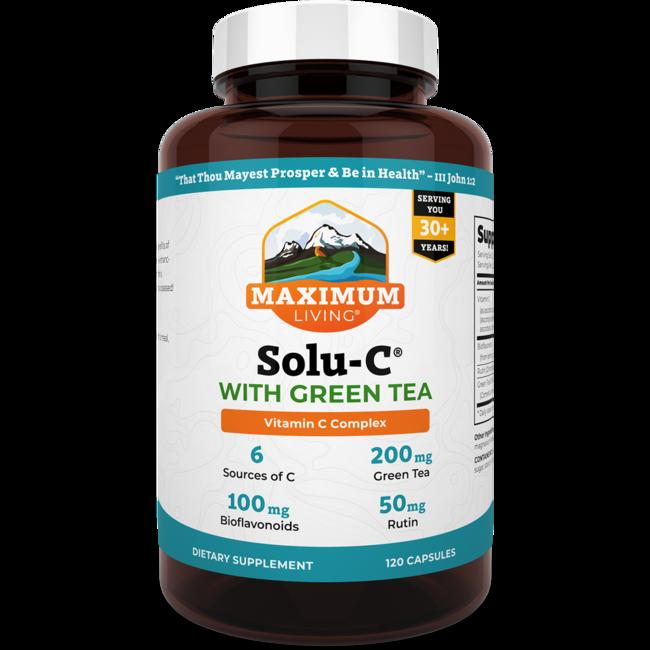 Maximum LivingSolu-C with Green Tea