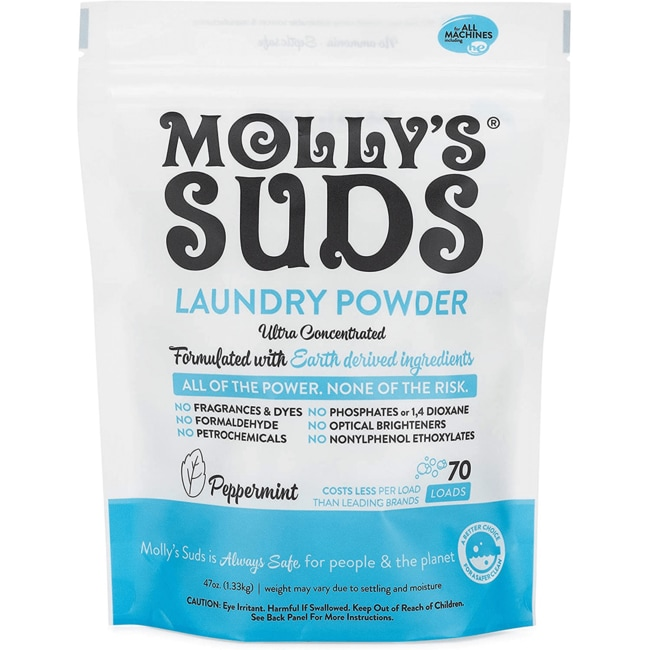 Molly's SudsLaundry Powder - 70 Loads