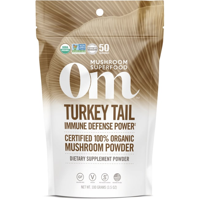 Organic Mushroom NutritionTurkey Tail
