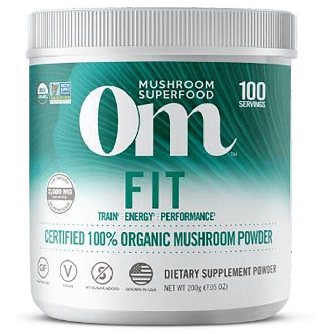 Organic Mushroom NutritionFit - Certified 100% Organic Mushroom Powder