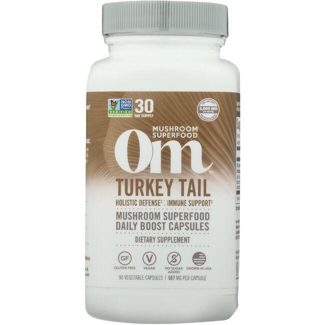 Organic Mushroom NutritionTurkey Tail Mushroom Superfood