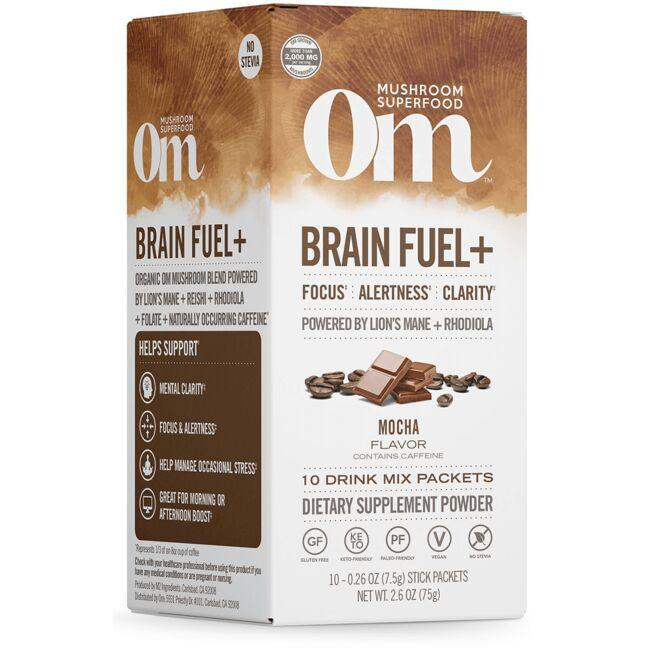 Organic Mushroom NutritionBrain Fuel+ Mocha