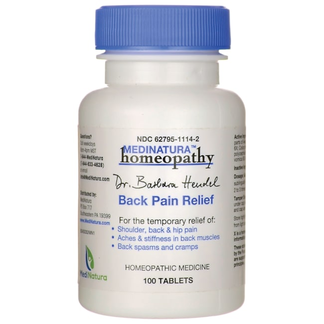 MediNaturaBack Pain Relief