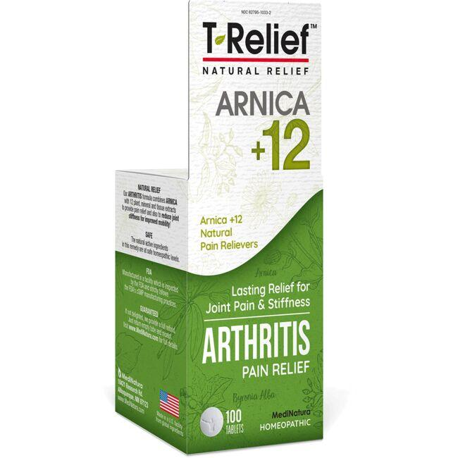 MediNatura T-Relief Arthritis Pain Relief Tablets