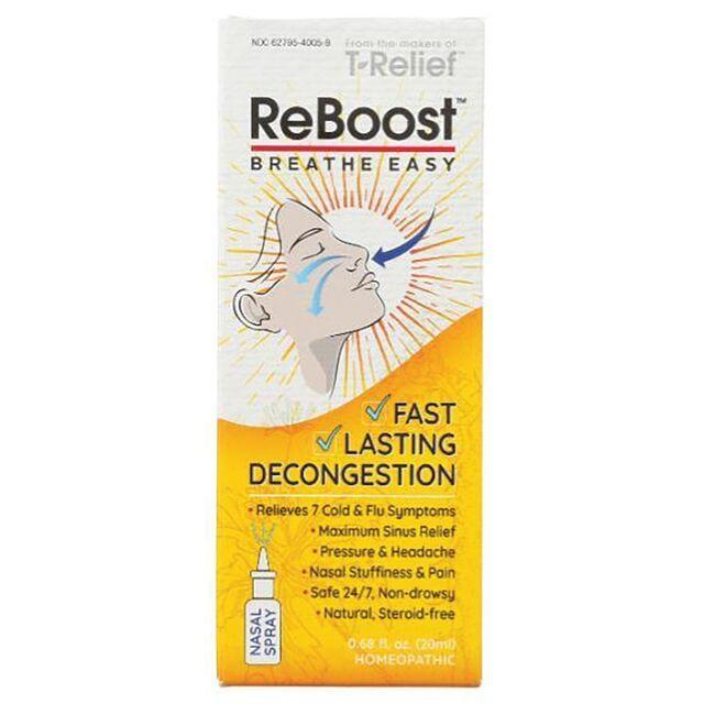 MediNaturaReBoost Echinacea +6 Fast Nasal Decongestion
