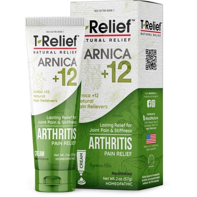 MediNatura T-Relief Arthritis Pain Relief Cream