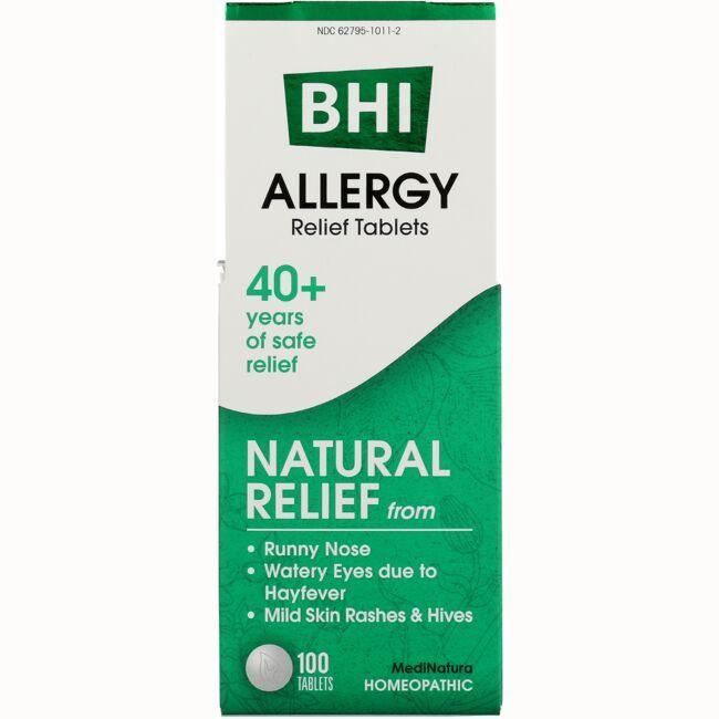 MediNaturaAllergy Relief Tablets