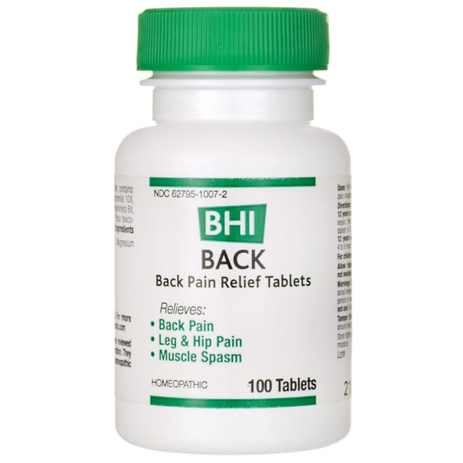 MediNaturaBack Pain Relief Tablets