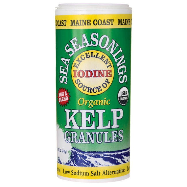 Maine CoastSea Seasonings Organic Kelp Granules