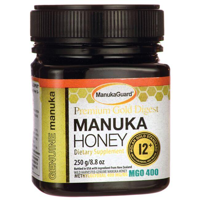 ManukaGuard Premium Gold Digest Manuka Honey 12+