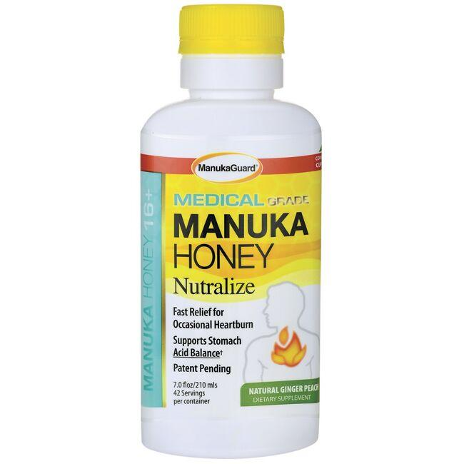 ManukaGuard Manuka Honey Nutralize - Natural Ginger Peach